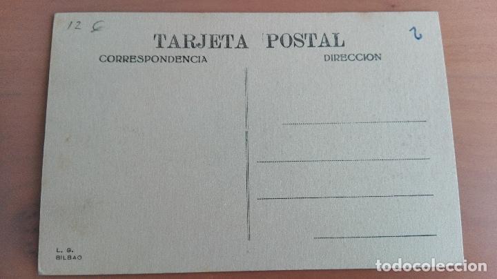 Postales: POSTAL BILBAO AÑOS 20 VIZCAYA, PAIS VASCO. PUENTE GIRATORIO, RIA, BARCOS. EDICION L.G. BILBAO - Foto 2 - 97843895