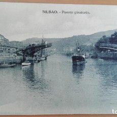 Postales: POSTAL BILBAO VIZCAYA PAIS VASCO. PUENTE GIRATORIO. EDITOR HAE. Lote 97906375