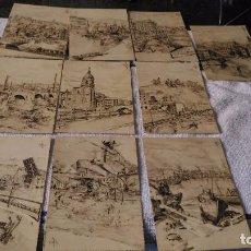 Postales: LOTE DE 10 POSTALES DE BILBAO 1944, VER FOTOS. Lote 98162219