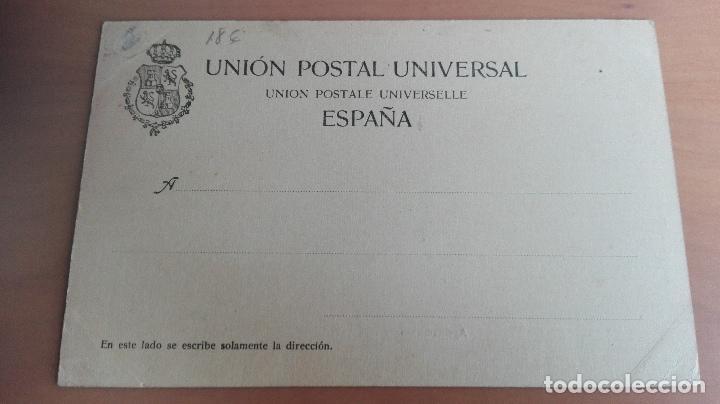 Postales: POSTAL RECUERDO DE BILBAO AYUNTAMIENTO VIZCAYA PAIS VASCO. ED: ELEUTERIO VILLAR PUENTE GIRATORIO - Foto 2 - 98351275
