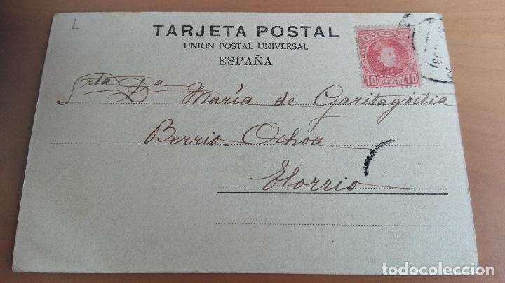 Postales: POSTAL RECUERDO DE BILBAO AYUNTAMIENTO VIZCAYA PAIS VASCO. ED: ELEUTERIO VILLAR PUENTE GIRATORIO SEP - Foto 2 - 98355287