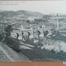Postales: POSTAL BILBAO Nº 1030 PUENTE NUEVO BOLUETA VIZCAYA PAIS VASCO. ED: LANDABURU HERMANAS. Lote 98428487