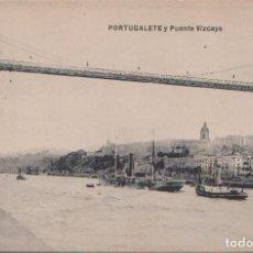 Postales: PORTUGALETE (VIZCAYA) - PUENTE VIZCAYA. Lote 98599891