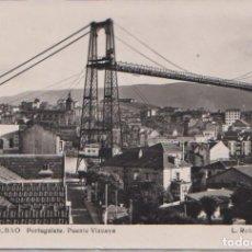 Postales: BILBAO (VIZCAYA) - PORTUGALETE PUENTE VIZCAYA. Lote 98599951