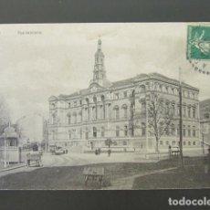 Postales: POSTAL BILBAO. AYUNTAMIENTO. CIRCULADA. AÑO 1912. . Lote 98855955
