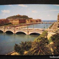 Postales: POSTAL SAN SEBASTIAN - RIO URUMEA Y PUENTES.. Lote 99213831