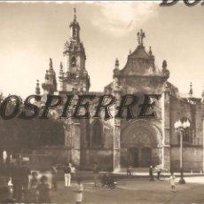 Postales: POSTAL, VALMASEDA, VIZCAYA, IGLESIA DE SAN SEVERINO, ESCRITA. Lote 99219807