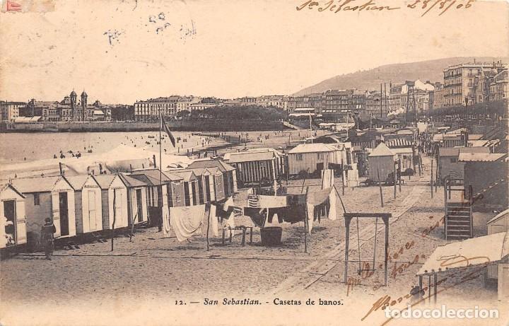 Banos San Sebastian.San Sebastian Guipuzcoa Casetas De Banos