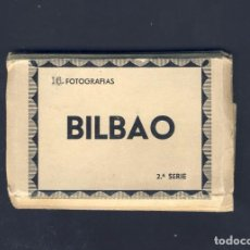 Postales: LIBRITO DESPLEGABLE CON 16 VISTAS DE BILBAO (ROISIN, SERIE 2) (VER FOTOS ADICIONALES). Lote 100216379