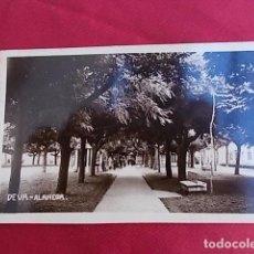 Postales: TARJETA POSTAL. DEVA. ALAMEDA.. Lote 100233567