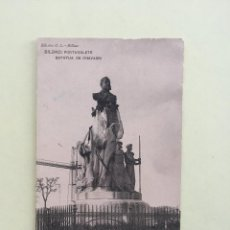 Postales: BILBAO- PORTUGALETE- ESTATUA DE CHAVARRI - SIN CIRCULAR. Lote 100282703