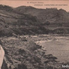 Postales: POSTAL ZARAUZ - CARRETERA DE GUETARIA / B. MIRANDA . P.MUNDI/P.VASCO-51. Lote 100482947