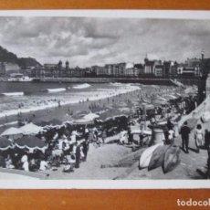 Postales: POSTAL DE SAN SEBASTIAN -AÑOS 40. Lote 100554263
