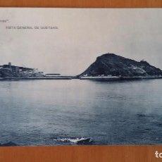 Postales: ZARAUZ GUIPUZCOA-VISTA GENERAL DE GUETARIA-CASA MIRANDA-FOTOTIPIA HAUSER Y MENET. SIN CIRCULAR -. Lote 101180159