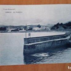 Postales: ZARAUZ GUIPÚZCOA-EL PUERTO-CASA MIRANDA-FOTOTIPIA HAUSER Y MENET. SIN CIRCULAR.. Lote 101181927