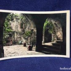 Postales: POSTAL COLOREADA FUENTERRABIA 21 DETALLE INTERIOR CASTILLO CARLOS V FOT GALARZA NO CIRC NO INSCRITA. Lote 101249199