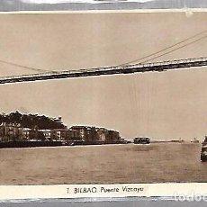 Postales: TARJETA POSTAL DE BILBAO - PUENTE VIZCAYA. 1. L.ROISIN. Lote 101344011