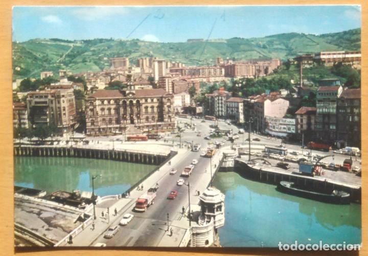 BILBAO - PUENTE GENERAL MOLA Y AYUNTAMIENTO (Postales - España - País Vasco Moderna (desde 1940))