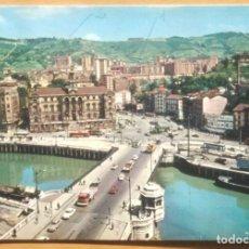 Postales: BILBAO - PUENTE GENERAL MOLA Y AYUNTAMIENTO. Lote 101601919