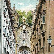 Postales: POSTAL DE SAN SEBASTIAN- IGLESIA DE SANTA MARIA, P49783. Lote 101739015