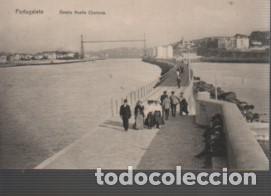 MUY BUENA POSTAL DE PORTUGALETE BILBO DETALLE MUELLE CURRUCA - NO PONE EDITOR (Postales - España - Pais Vasco Antigua (hasta 1939))