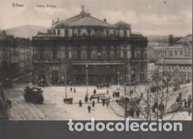 MUY BUENA POSTAL DE BILBAO TEATRO ARRIAGA - NO PONE EDITOR (Postales - España - Pais Vasco Antigua (hasta 1939))