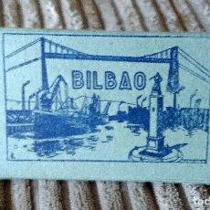 Postales: BLOC ACORDEÓN 10 POSTALES FOTOGRÁFICAS EN BLANCO DE BILBAO.90X45 MM.EDICIONES GARCÍA GARRABELLA,Nº 1. Lote 101913699