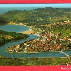 Postales: 4580 SPAIN ESPAÑA ESPAGNE PAÍS VASCO VIZCAYA (BILBAO) PLENCIA Y GORLIZ VISTA AÉREA. Lote 101942623