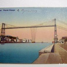 Postales: LAS ARENAS VIZCAYA PUENTE DE VIZCAYA SIN CIRCULAR. Lote 102493819