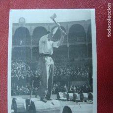 Postales: FOTOGRÁFICA. VASCONIA. CONCURSO DE AIZKOLARIS. FOT. OJANGUREN. ED. GONDRA. P15. Lote 103061167