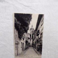 Postales: POSTAL DE FUENTERRABIA CALLE MAYOR SIN CIRCULAR. Lote 103064619
