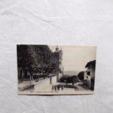 Postales: POSTAL DE IRUN L´EGLISE ET PLACE DE ´ ECOLE SIN CIRCULAR. Lote 103065835