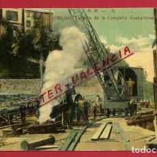 Postales: POSTAL BILBAO , TALLERES DE LA COMPAÑIA EUSKALDUNA , ORIGINAL , P88000E. Lote 103228443