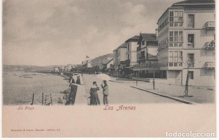LAS ARENAS.-BILBAO.-LA PLAYA (Postales - España - Pais Vasco Antigua (hasta 1939))