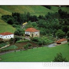 Postales: ZALLA (VIZCAYA) BOLUNBURU: NATURALEZA, TORRE , FERRETERIA - ED. AYUNTAMIENTO DE ZALLA -. Lote 103425959