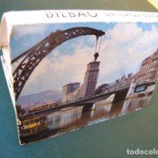 Postales: ACORDEÓN DE POSTALES DE BILBAO. AÑOS 60. 21 POSTALES. Lote 103615939