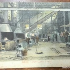 Postales: BILBAO. DESIERTO. DETALLE ALTOS HORNOS. (STENGEL & CO, Nº 2) REVERSO SIN DIVIDIR CIRCULADA EN 1905. . Lote 104151351