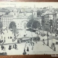 Postales: BILBAO. PASEO DEL ARENAL. (LANDÁBURU HERMANAS, 1062) CIRCULADA EN 1908. . Lote 104152595