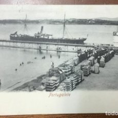Postales: PORTUGALETE. (ROMMLER & JONAS) CIRCULADA EN 1906. . Lote 104155475