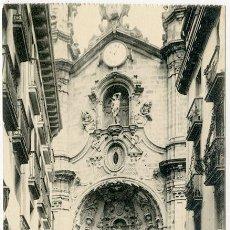 Postales: SAN SEBASTIÁN. IGLESIA DE STª MARÍA. FOTOTIPIA DE HAUSER Y MENET, MADRID. SIN CIRCULAR. Lote 104181883