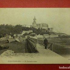 Postales: POSTAL - ESPAÑA - SAN SEBASTIAN - FUENTERRABIA - EL DESEMBARCADERO -- N.D. - ND FOT - NE - NC. Lote 104332335
