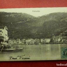 Postales: POSTAL - ESPAÑA - SAN SEBASTIAN - PASAJES - EDICIONES E.J.G - ESCRITA. Lote 104332347