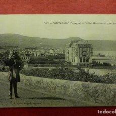 Postales: POSTAL - ESPAÑA - SAN SEBASTIAN - 302.- FUENTERRABIA - HOTEL MIRAMAR Y PARTE DEL PUERTO - NE - NC. Lote 104332459