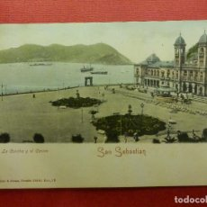 Postales: POSTAL - ESPAÑA - SAN SEBASTIAN - LA CONCHA Y EL CASINO - ROMMLER & JONÁS - NE - NC. Lote 104332527