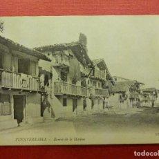 Postales: POSTAL - ESPAÑA - GUIPUZCOA - FUENTERRABIA - CALLE DE LA MARINA - ND FOT- NE - NC. Lote 104414699