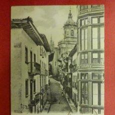 Postales: POSTAL - ESPAÑA - GUIPUZCOA - FUENTERRABIA - CALLE MAYOR - A. VILLATTE EDITEUR TARBES - ESCRITA. Lote 104414759