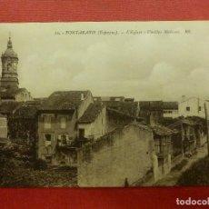 Postales: POSTAL - ESPAÑA - GUIPUZCOA - 10.- FUENTERRABIA - IGLESIA Y CASAS DEL PUEBLO - B & G -. Lote 104414915