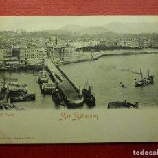 Postales: POSTAL - ESPAÑA - SAN SEBASTIAN - EL PUERTO - ROMMLER & JONÁS -10535,12 - NE - NC. Lote 104415011