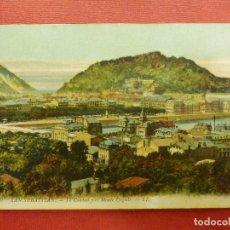 Postales: POSTAL - ESPAÑA - SAN SEBASTIAN - 10.- LA CIUDAD Y MONTE URGULL - LL - L.L. - LOUIS LEVY - NE - NC. Lote 104415067