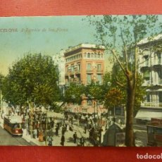 Postales: POSTAL - ESPAÑA - BARCELONA - 2.- RAMBLA DE LAS FLORES - ED. JORGE VENINI - ESCRITA EN 1915. Lote 104415107